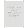 Translucent Paper, Permanent Adhesive